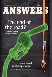 Front cover of the North Sea Region's Answers magazine